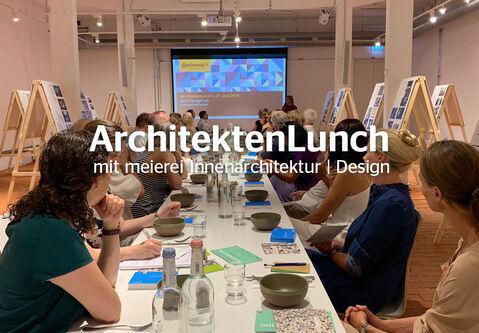 Review: ArchitektenLunch with meierei Innenarchitektur | Design on 27 June 2019