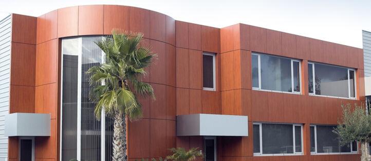 skai® Fassadenfolie für die individuelle Gestaltung von Fassaden