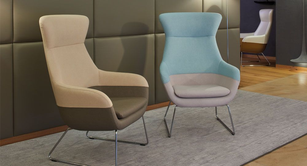 Artificial leather from skai® in beige and brown for upholstered furniture