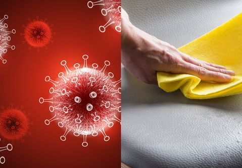 _skai_ upholstery fabrics: excellent compatibility with disinfectants, which are effective against SARS-CoV-2