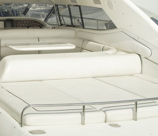 skai® artificial leather cushion covers for outdoor area on boats