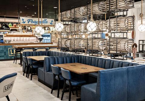 Restaurant Léon de Bruxelles, Aeroville Frankreich