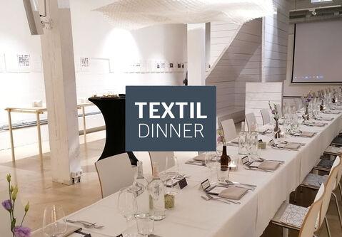 Review: Textildinner in drei Gängen mit inspirierenden Vorträgen