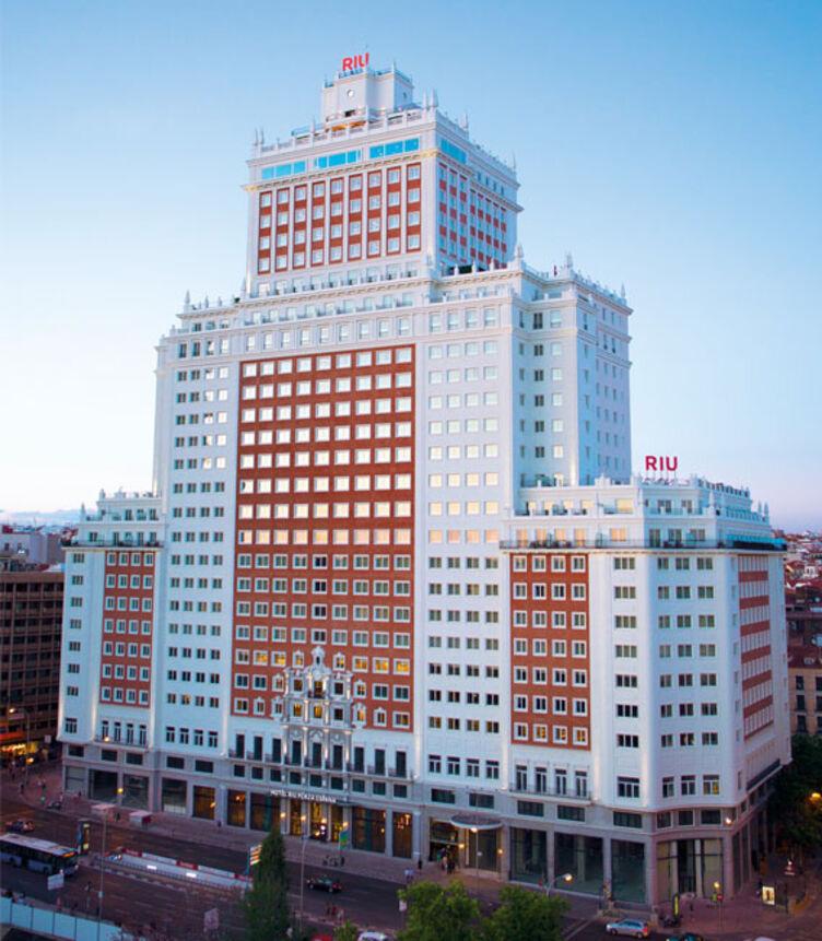Hotel Riu Plaza España in Madrid