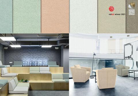 Neuer Star unter den Polsterbezugsstoffen: _skai_ VyP Lana gibt Möbeln neue Dimensionen in Sitzkomfort & Design!