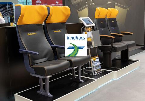 Обзор: многообразие современного дизайна от компании Continental на выставке InnoTrans 2018