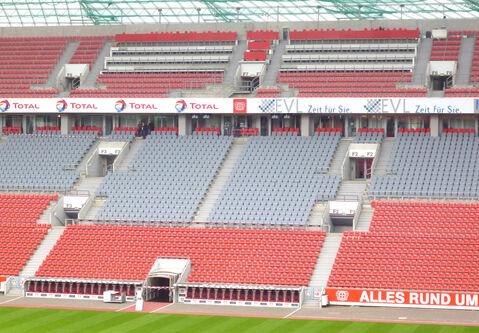 Bayarena Leverkusen arène