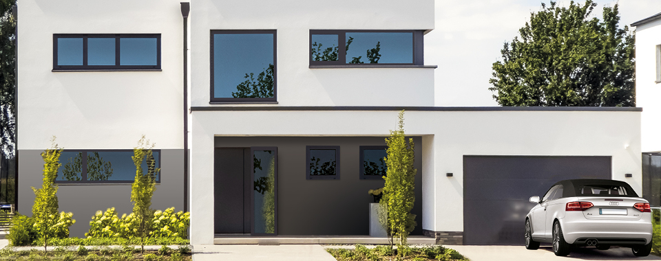 Perfect finish with skai® film for window frames and window profiles