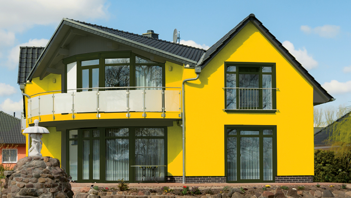 [Translate to Russisch:] skai® cool colors Anwendung Fensterprofile