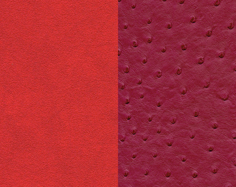 skai® Artificial leather in red